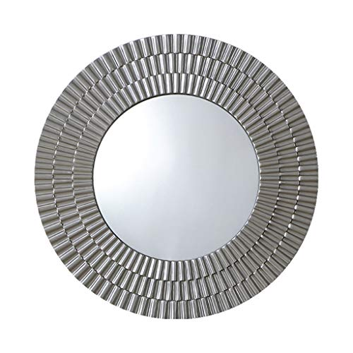 Miroirs Miroir Mural Miroir De Salle De Bain Miroir De Frontière Créatif Miroir De Courtoisie De Chambre Grand Miroir Rond Miroir Décoratif De Mur De Porche De Salon