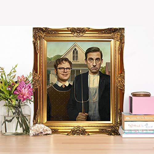 Dwight Schrute & Michael Scott - Limited Poster Artwork