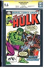 Marvel Comics The Incredible Hulk #271 CGC SS 9.6 Signed by Stan Lee First (1st) Appearance of Rocket Raccoon from (Guardians of The Galaxy)