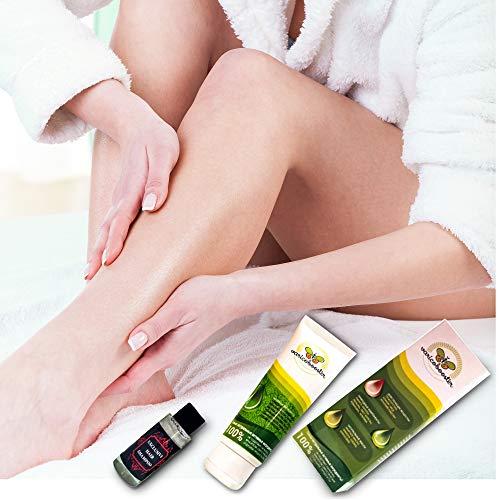 Varicobooster 2x75ml frische Brühe Hergestellt in 08.2020 kostenlos 30 ml Spezialconditioner Beste Creme für die Beine 2x75ml (2 Tuben + exclusive hair shampoo))