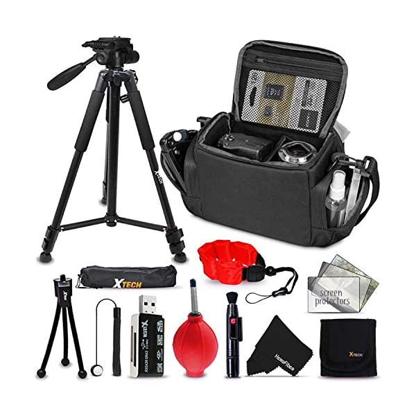 Deluxe Camera Accessories Kit for Canon, Nikon, Sony, Pentax, Fujifilm, Panasonic,...