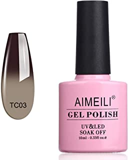 AIMEILI Gel Nail Polish Soak Off UV LED Temperature Color Changing Chameleon - Old Fashioned (TC03) 10ml