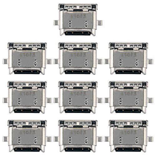 JUNXI Phone 10 PCS de Carga del Puerto de Conector for Huawei Honor 8 / V8 / P9 / P9 Plus / 5 Maimang