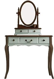 Bangxiu-home Tocadores de Dormitorio Tocador De Estilo Rústico Americano Antiguo Aparador Retro Muebles De Apartamento Pe...