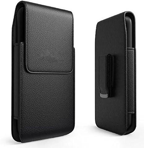 Premium Vertical PU Leather Pouch Case Belt Clip Holster For LG G7 / G6 / G7 ThinQ / LG V30 / V35 ThinQ / LG K30 / Q Stylus / LG Stylo 4 / OnePlus 6 / HTC U12 / Desire 12 / Huawei P20 / Asus ROG Phone