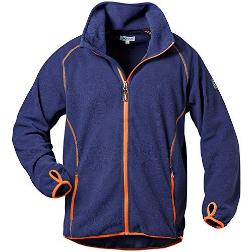 Elysee 23361-2XL Fleece-Jacke Connor Größe 2XL in marine/orange