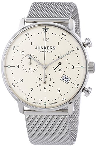 Junkers 6086M-5 Junkers Bauhaus Series Chronograph Mens Watch