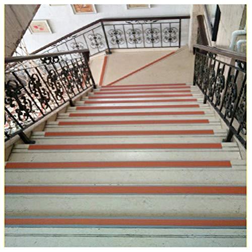 Cinta Antideslizante10M, Cinturón Antideslizante para Escaleras Autoadhesivo,Cinta Antideslizante para Pisos Lisos y Escaleras en Jardines de Infantes.(Color Café) (Size : 45M)
