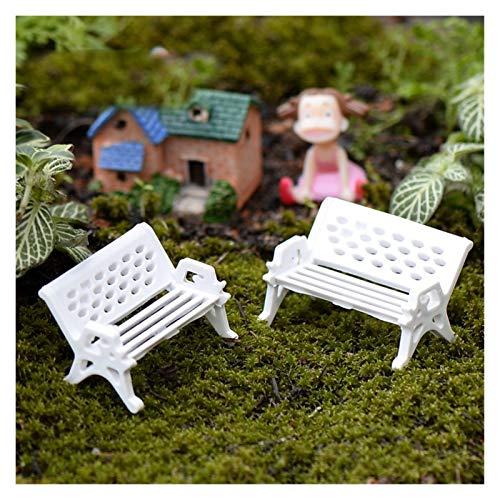 LBLX Artificial Plant 10Pcs Garden Decoration Chair Miniature Craft Decoration Statue