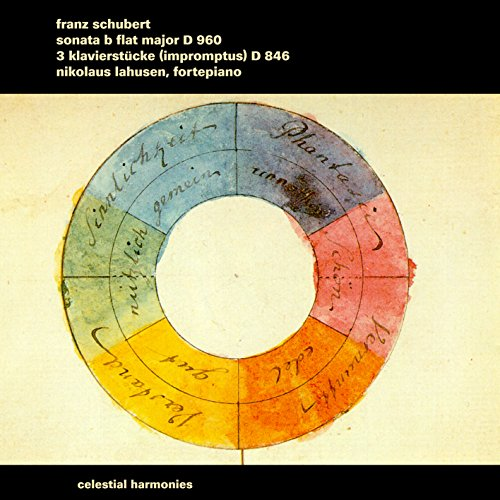 Schubert: Sonate B-dur D 960 / 3 Klavierstücke (Impromptus) D 946