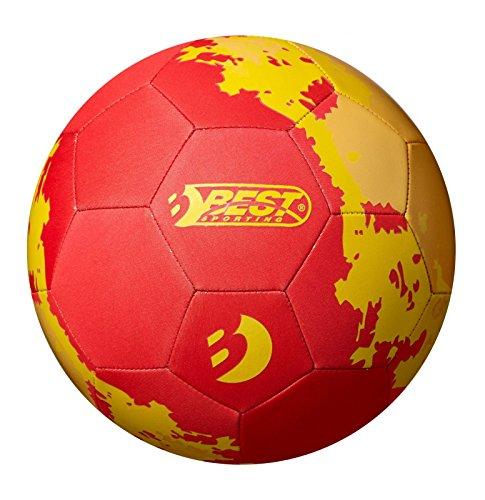 Best Sporting Neopren Fußball, Verschiedene Farbausführungen (rot/gelb)