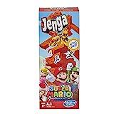 Jenga Juego Super Mario Edition, Juego de Torre apilable de Bloques para Fans de Super Mario, a Partir de 8 años
