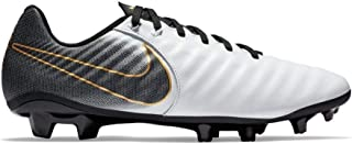 Tiempo Legend 7 Academy FG Soccer Cleat (White/Black) (Men's 10.5/Women's 12)