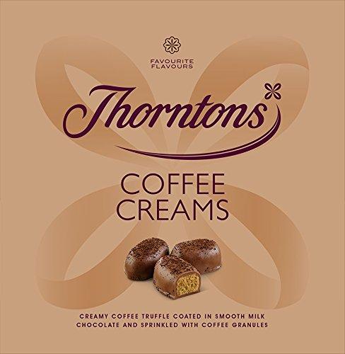 Scatola di cioccolato Thorntons Coffee Creams (256g)
