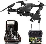 Drone GPS avec caméra HD 4K, Drone pliable Quadricoptère WiFi FPV 5 GHz, Drone RC avec Caméra Professionnelle, Suivez-moi, Mode sans Tête, Cadeau parfait pour Enfants & Débutants