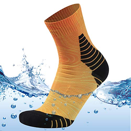 MEIKAN Womens Fly Fishing Socks Waterproof Socks Crew Sport Neoprene...