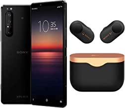 Sony Xperia 1 Mark II Launch Bundle with WF1000X33/B True Wireless Headphones (2 Items)