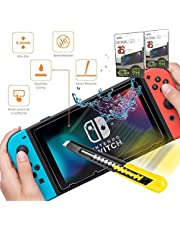 Diğer Nintendo Switch Cam Ekran Koruyucu Tempered Class 9H