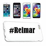 Handyhülle kompatibel für iPhone 7 Hashtag #Reimar im