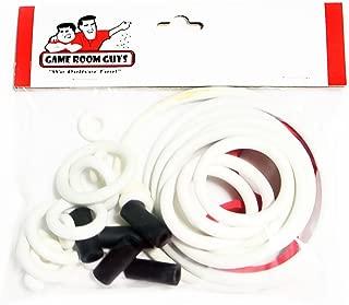 Game Room Guys Bally Pool Sharks Pinball White Rubber Ring Kit