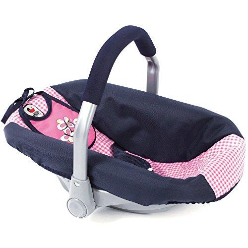 Bayer Chic 2000 708 46 autostoeltje voor babypoppen, marineblauw