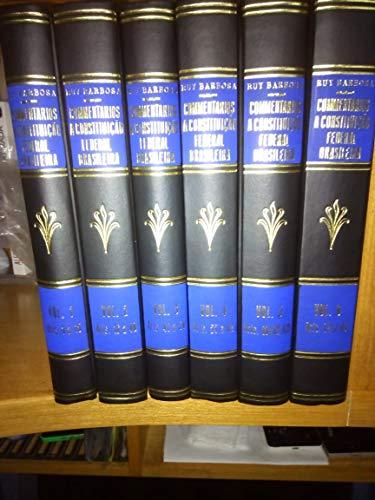 Comentários à Constituição Federal Brasileira - 6 Volumes (completa)