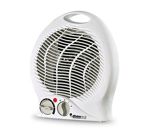 027530 Mini stufa da bagno dhomteck systems 2000W caldobagno. MEDIA WAVE store (Bianco)