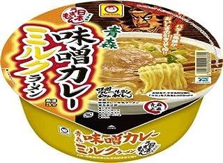 マルちゃん 日本うまいもん 青森味噌カレーミルクラーメン130g 12食入り