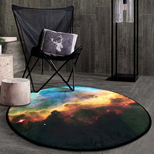 Good thing tapis Tapis rond Carpet Star Round Rug, coussins pour enfants chambre tapis d'ordinateur tapis de sol salon chambre panier rond tapis (taille : Diameter 100CM)
