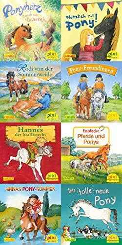Pixi-Box 259: Ponygeschichten mit Pixi (8x8 Exemplare) (259)