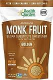 Health Garden Monk Fruit Sweetener, Golden - Non GMO - Gluten Free - Sugar Substitute - Kosher - Keto Friendly (1 lb x 2)