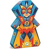 Djeco Puzzle Silueta Super Heroe 36 Piezas