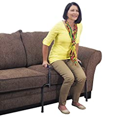 PREVENT FALLS: The Universal Stand Assist provides users with stability and balance when sitting or standing from their favorite chair, couch, or recliner; compatible with either fixed, stitched, or removable furniture cushions, place the stand assis...