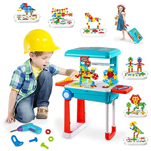 Bldaxn Kids Electric Drill Building Puzzles Toys Kits Only $19.96 (Retail $36.29)