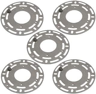 B&P Lamp Pack of Five Steel Universal Circle Crossbars