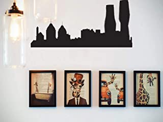 Fusion Decals Boston USA 2 Cityscape Vinyl Wall Decal - Removable
