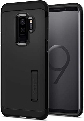 Spigen [Tough Armor] Galaxy S9 Plus Case with Reinforced Kickstand and Heavy Duty Protection and Air Cushion Technolo...