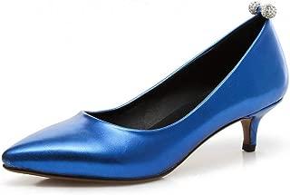 BalaMasa Womens Dance-Ballroom Travel Assorted Colors Urethane Pumps Shoes APL10674
