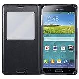 Samsung Clear Cover - schwarz - Schutzhülle Galaxy S5