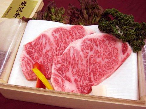 最高級熟成米沢牛 A5等級メス サーロイン ステーキ用 1kg(200g×5枚) 桐箱入