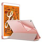 ESR Slim Smart Case for iPad mini 5 2019, Flexible TPU Back