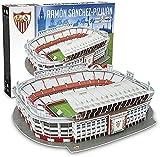 Sevilla FC Nanostad, Puzzle 3D Estadio Sánchez Pizjuán Standard de Sevilla (34455), Multicolor (Kick Off Games 1)