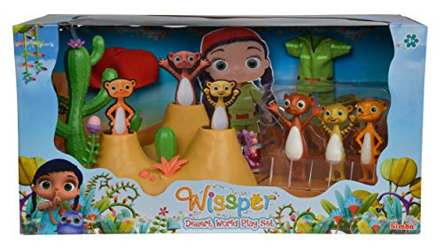 Simba 109358318 - Wissper Wüstenwelt Spielset