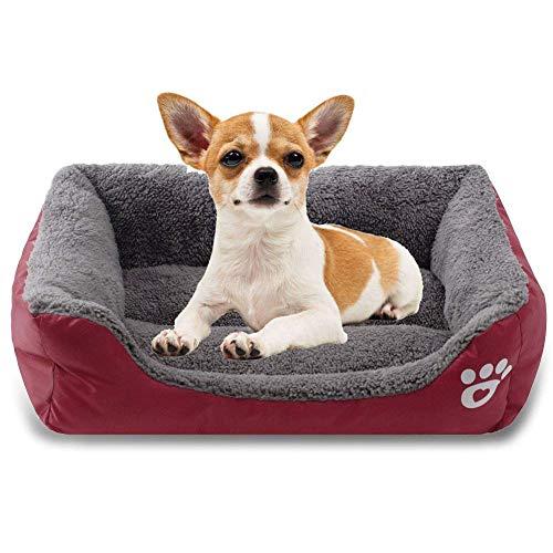 SXJXB hondenbed, hondenkussen, comfort, wasbaar hondenbed, grootte + kleur naar keuze