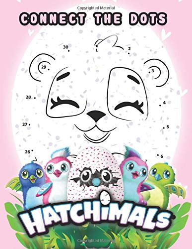 Hatchimal Connect The Dots: Collection Activity Connect The Dots Coloring Books For Adults