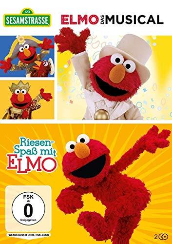 Elmo - Das Musical & Riesenspaß mit Elmo (2 DVDs)