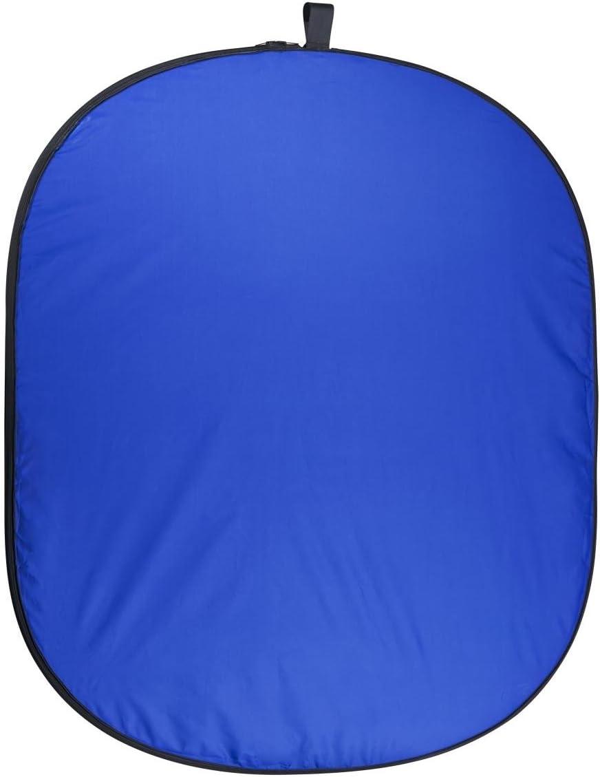 Walimex Pro 150 X 210 Foldable Background Blue Green Camera Photo