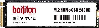 BAITITON NVME 240GB Unità SSD M.2 2280 PCIe Express GEN3.0x4 Unità a Stato Solido Interno Lettura 1800MB/s, Scrittura 1000...