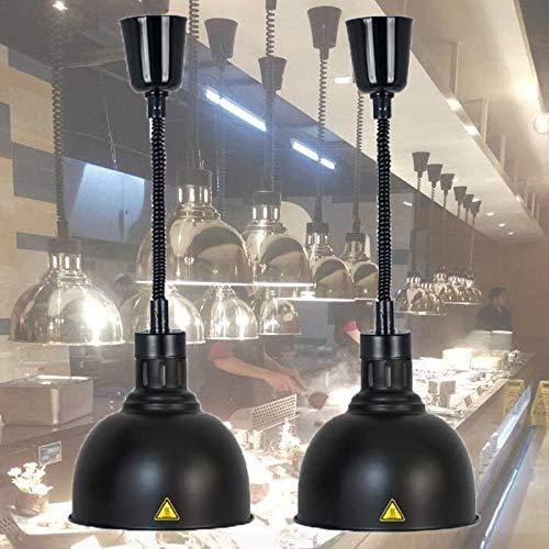 WDSZXH Lampe Chauffe-Plats, Lampe de Chauffante des Aliments pour Buffet et Restaurant, Lampe...