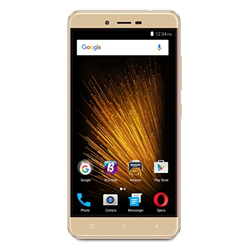 BLU Vivo XL 2-4G LTE SIM-Free Smartphone- 32GB + 3GB RAM -Gold